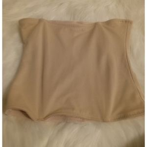 Nude stretch girdle shapewear